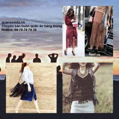 Cách mix quần áo secondhand