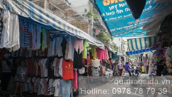 địa chỉ bán quần áo si đẹp ở TPHCM - Chợ Bà Chiểu