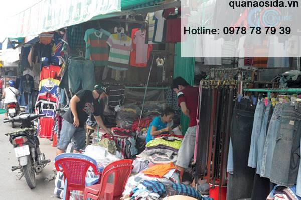 địa chỉ bán quần áo si đẹp ở TPHCM chợ Nghĩa Phát