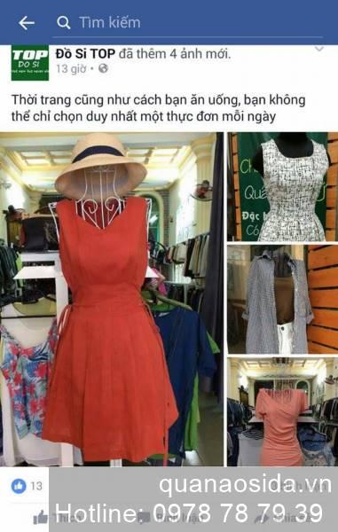 địa chỉ bán quần áo si đẹp ở TPHCM Facebook Đồ Si TOP