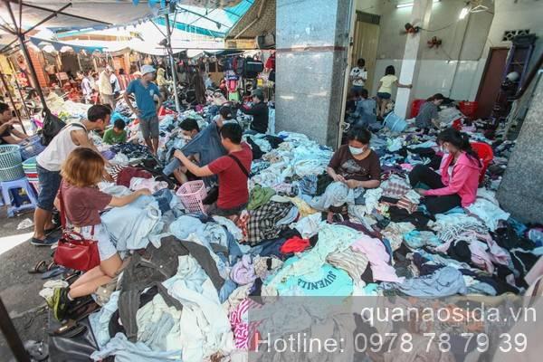 địa chỉ bán quần áo si đẹp ở TPHCM - chợ sida Hoàng Hoa Thám